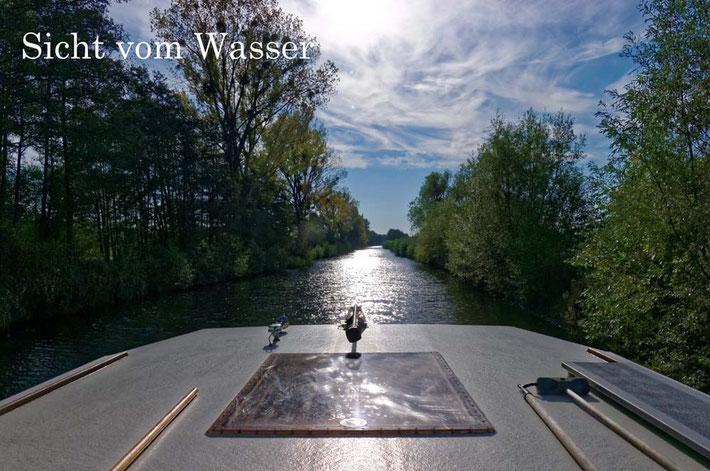 Faszination Hausbootfahren - Die Sicht vom Wasser
