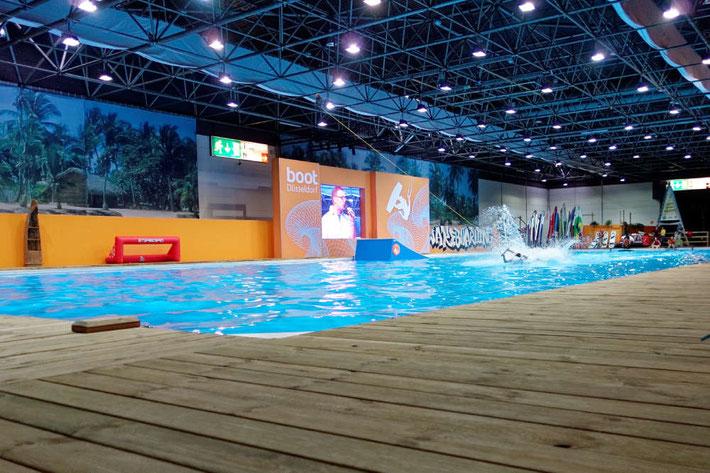 Das Wake Board Center auf der boot Düsseldorf 2016