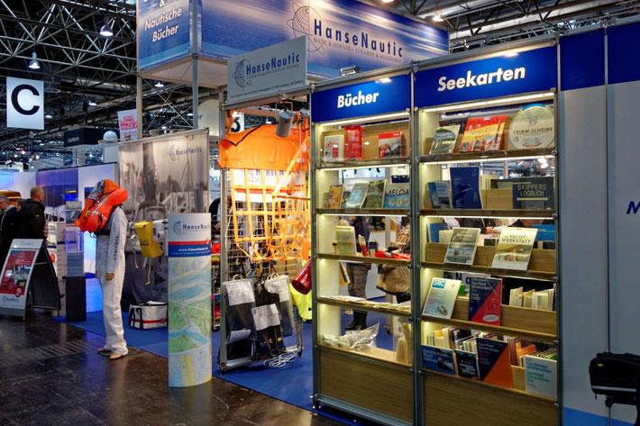 Der Verlag HanseNautic auf der boot in Düsseldorf