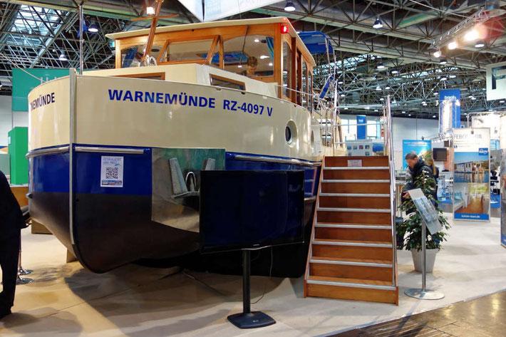 Kormoran 1150 auf der boot in Düsseldorf 2016