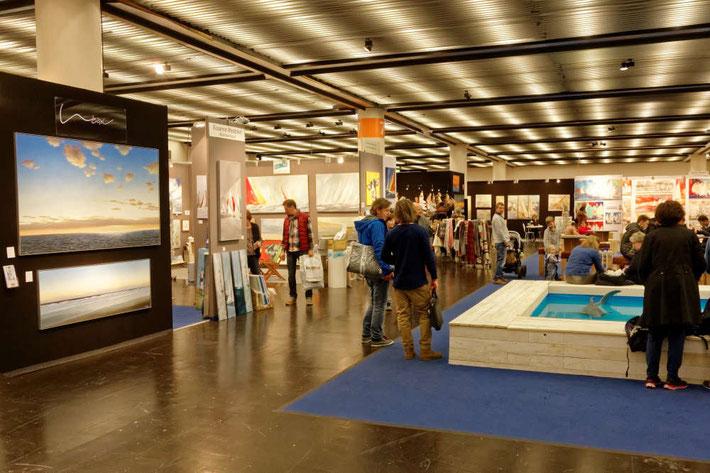 Maritime Kunst auf der boot in Düsseldorf