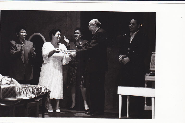 LA PRISIONERA, FORO ESPACIO Ensenada 1998