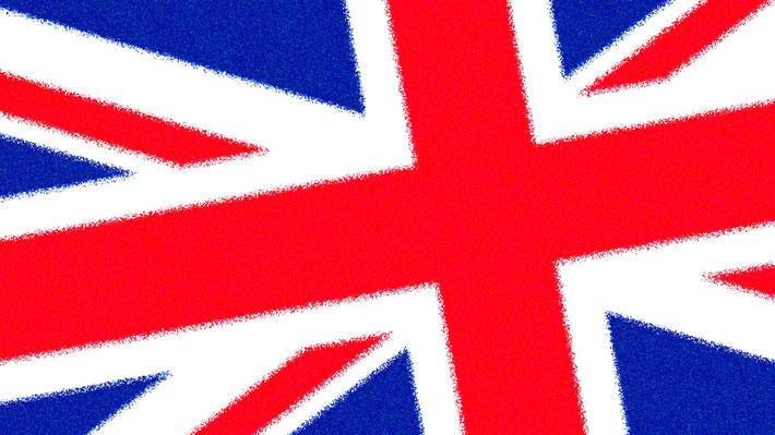 Ansicht der britischen Flagge