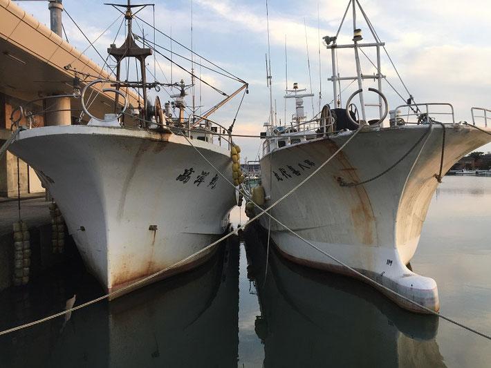 生地港の船