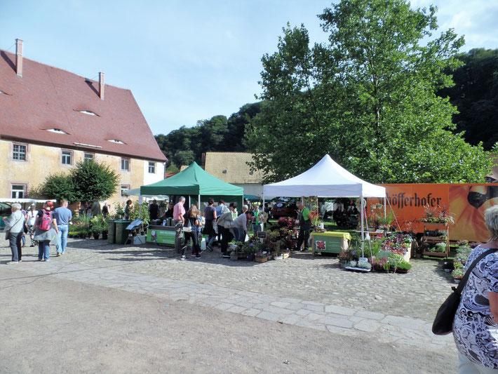 Erntedankfest in Klosterbuch im September 2017