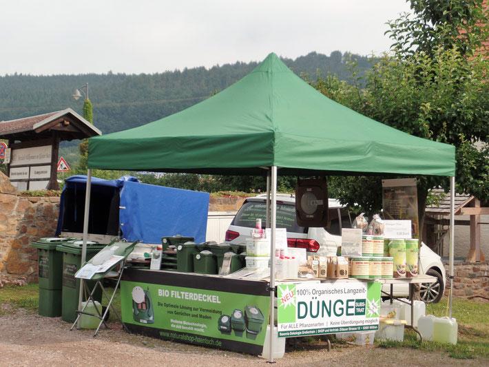 Bauernmarkt in Klosterbuch im Juli 2017