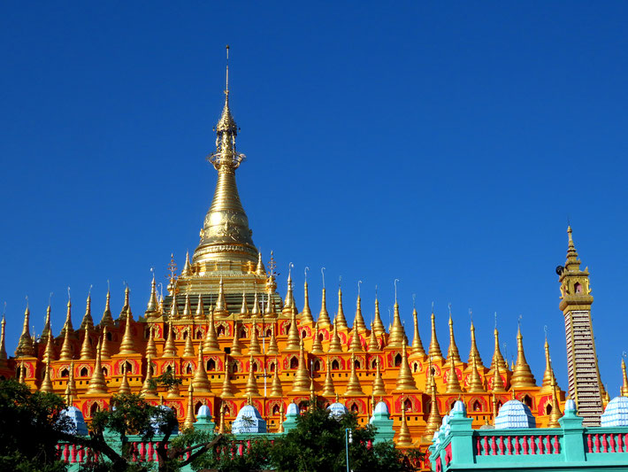 Thanboddhay-Pagode bei Monywa