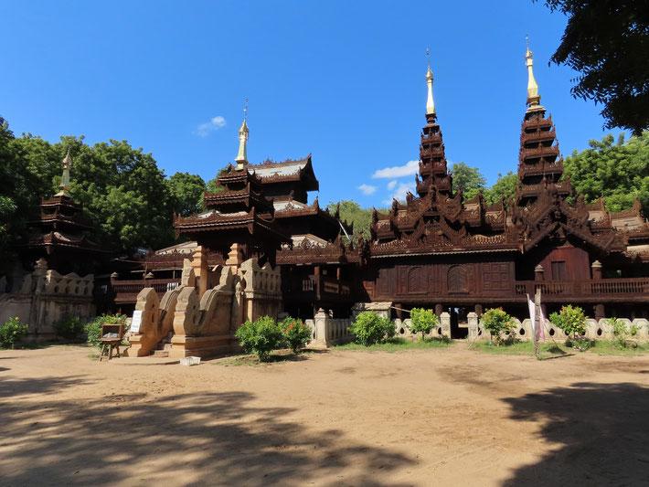 Nat Taung Kloster in Bagan