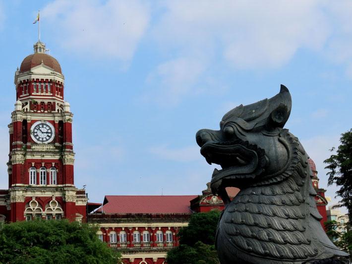 Gerichtshof in Yangon