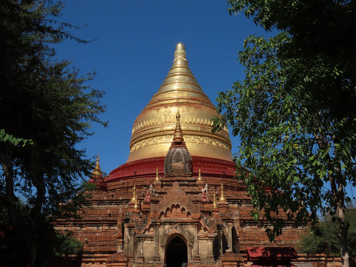 Dhamma Ya Zi Ka Pagode in Bagan