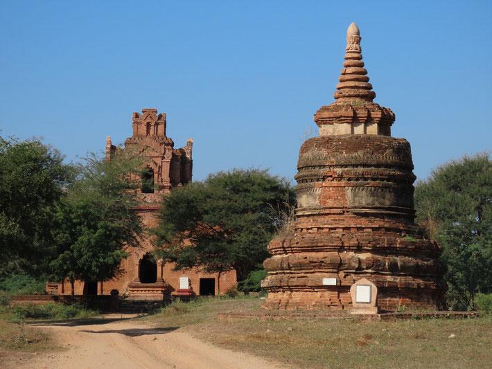 Shwe Nan Yin Taw Klosters in Bagan