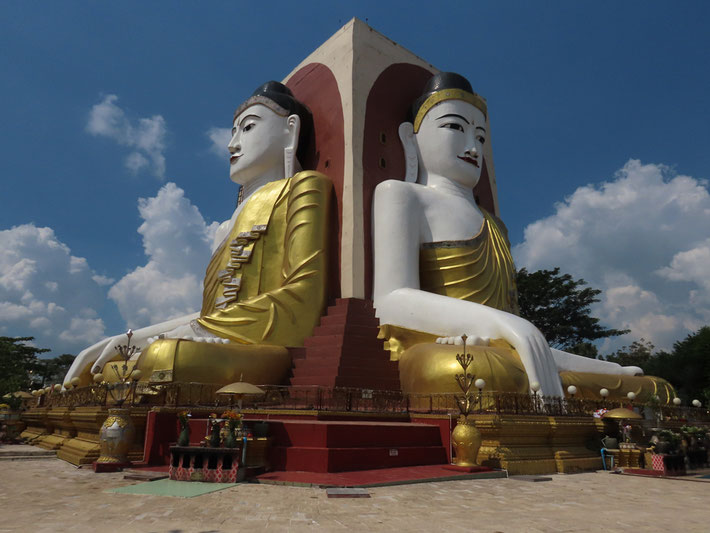 vier Buddhas von Bago