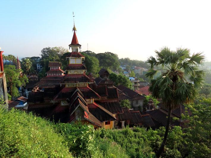 Seindon Mibaya Kloster in Mawlamyine