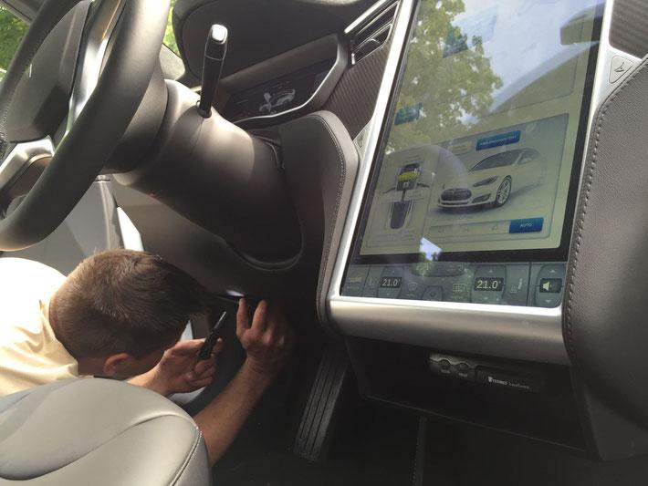 Fahrtenbuch Tesla S
