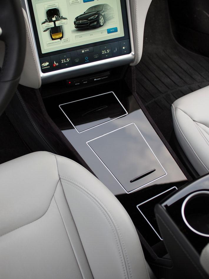 Tesla S Mittelkonsole