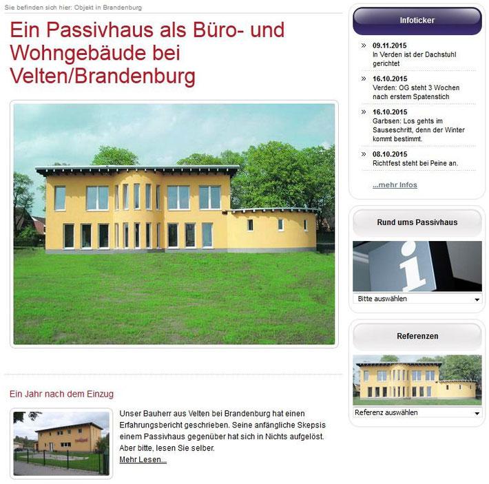 Passivhaus Velten Hellmann