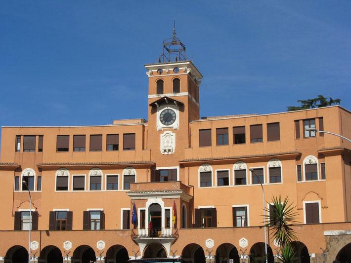 La sede del III Municipio in Piazza Sempione, 15 - Roma