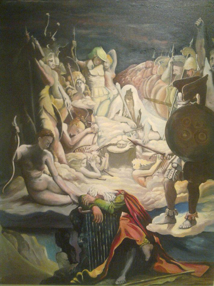 Il sogno di Ossian - Jean Auguste Dominique Ingres, 1813