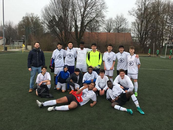 Unsere Fußballmannschaft der älteren Jahrgänge