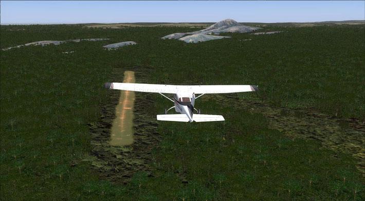 Mutinondo Wilderness airstrip