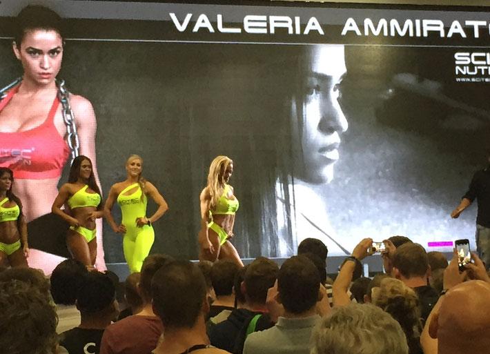 Valeria Ammirato, scitec nutrition