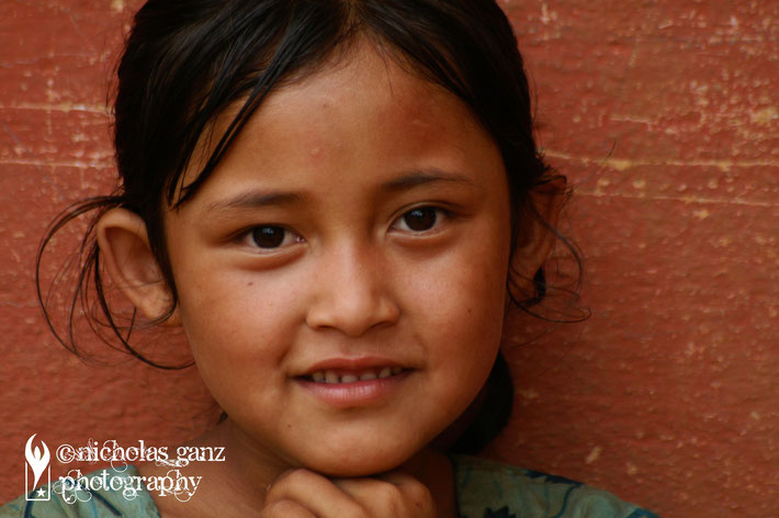 Dalith girl near Kavre village.
