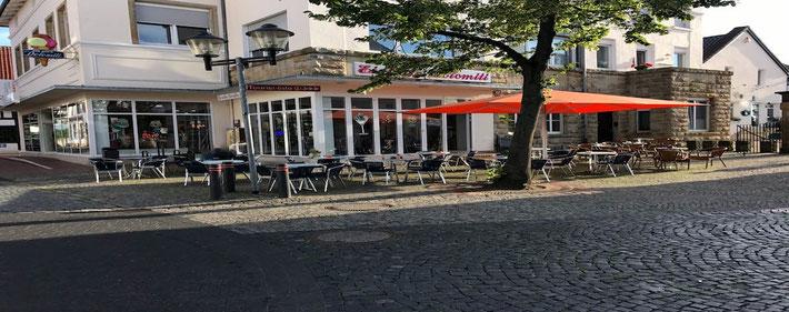 EisCafé Dolomiti in Westerkappeln mit Außenterrasse