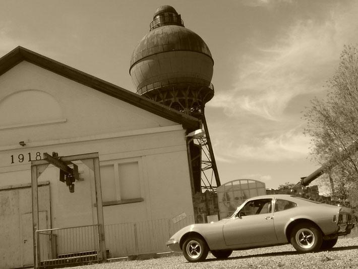 Oldtimer Kugelwasserturm Brassat Ilsede