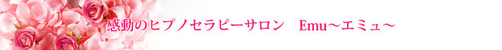 岐阜県岐阜市(名古屋近郊)催眠療法、感動のヒプノセラピーサロンエミュ、前世療法、インナーチャイルド、セッション料金
