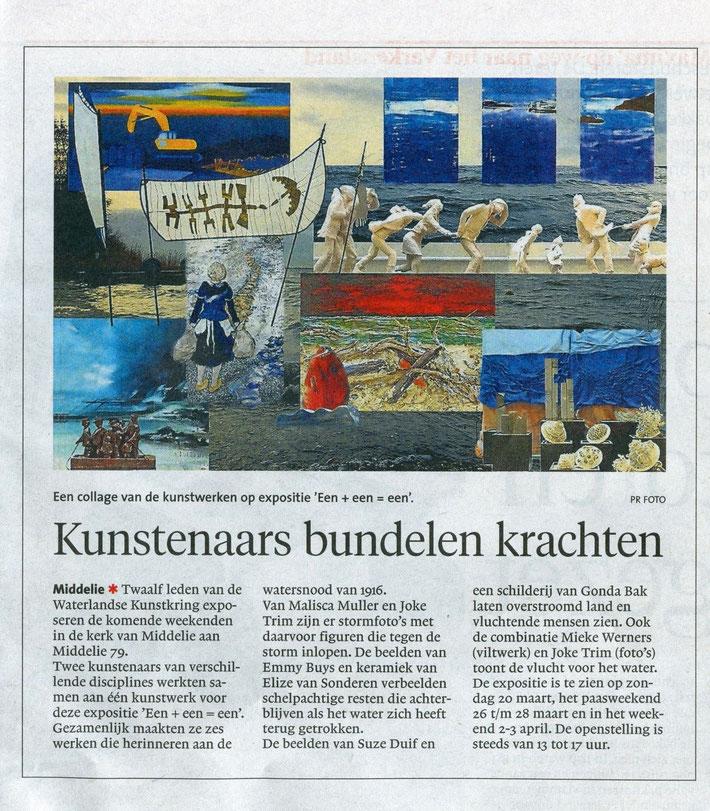 NoordHollands Dagblad 18 maart 2016