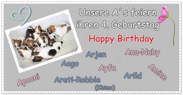 30. Januar 2014 - alles Gute zum 4. Geburtstag!