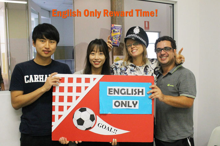 シドニー Cass Training International College English Only Reward Time!