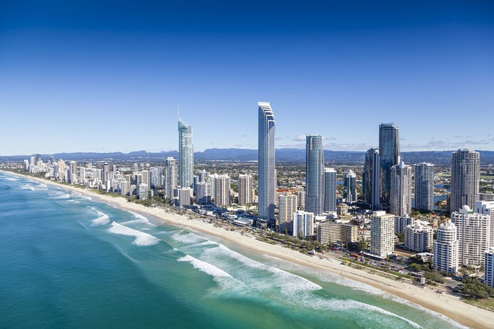 Gold Coast, Aerial View
