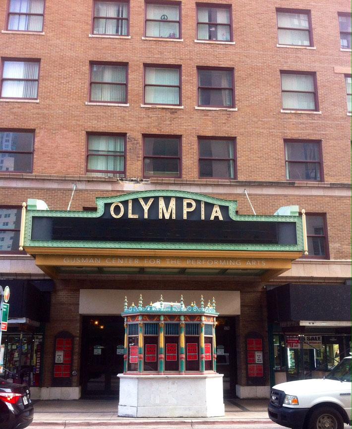 A Miami aussi il y a l'Olympia !!