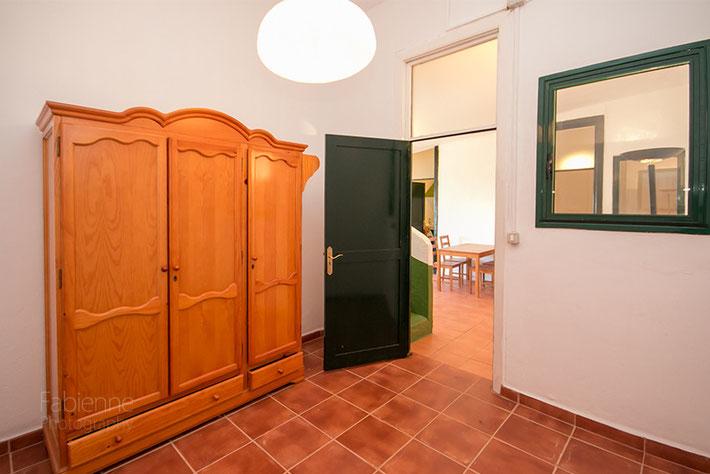 3. Schlafzimmer - Zugang vom Wohnzimmer