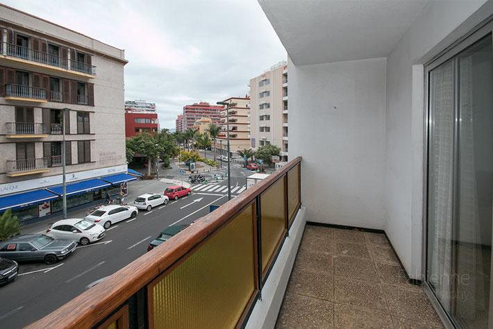 Balkon vom Studio