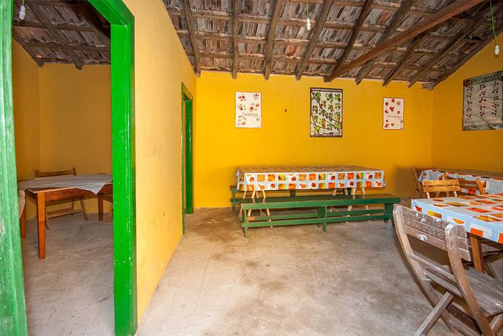 Über zwei Zimmer verfügt dieses 100 jährige Häuschen