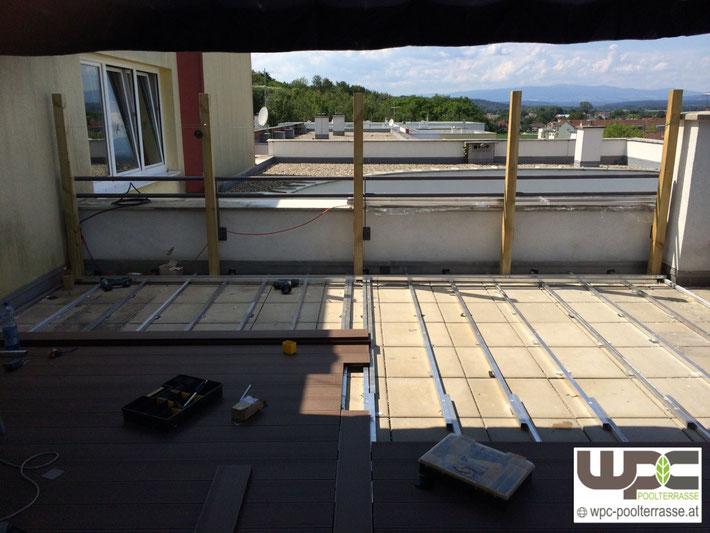 Terrasse Unterbau Abstand : Fundament Steine F R Holzterrassen Fundamente Selbst de