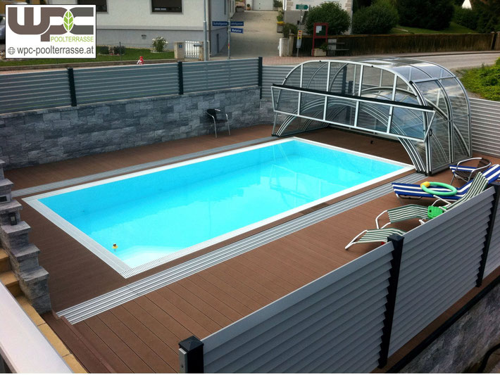 Sichtschutz Terrasse Granit : BPC WPC Terrassendielen Poolumrandung ...