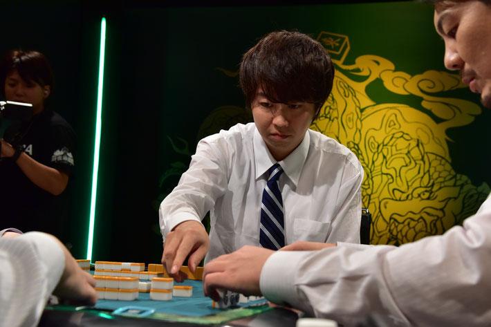 勝又に完全に手牌を読まれていた石橋伸洋。