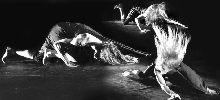 Susanne Linke premiere 1984 Orient Okzident solo photomontage Heidemarie Franz
