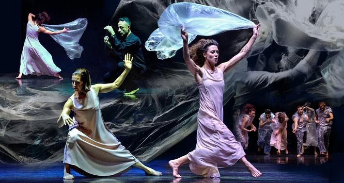 photos: Elio Fumo - choreography: Susanne Linke, photomontage: Heidemarie Franz artwork3.de