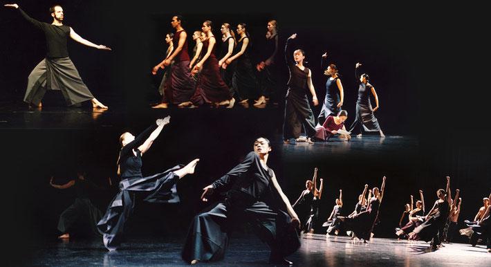 Susanne Linke Fragmente Skizzen premiere 2006 Folkwang Academy photo montage Heidemarie Franz