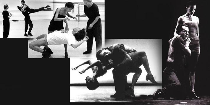 Susanne Linke premiere 1992 Tristan und Isolde photo montage Heidemarie Franz