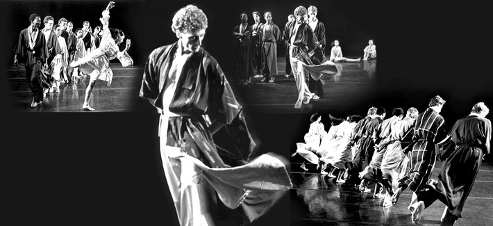 Susanne Linke premiere 1986 Also Egmont bitte photo montage Heidemarie Franz