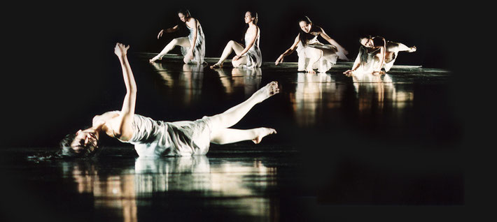 Susanne Linke Wandlung revival 2007 Yu Tsai Chin photomontage Heidemarie Franz