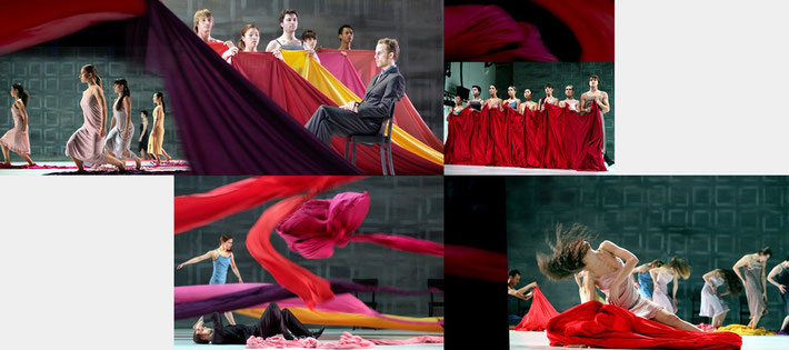 Susanne Linke Frauenballett revival premiere 2010 Folkwang University photomontage Heidemarie Franz