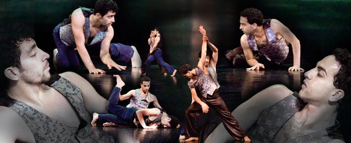 Yaman choreographer Suanne Linke photomontage Heidemarie Franz