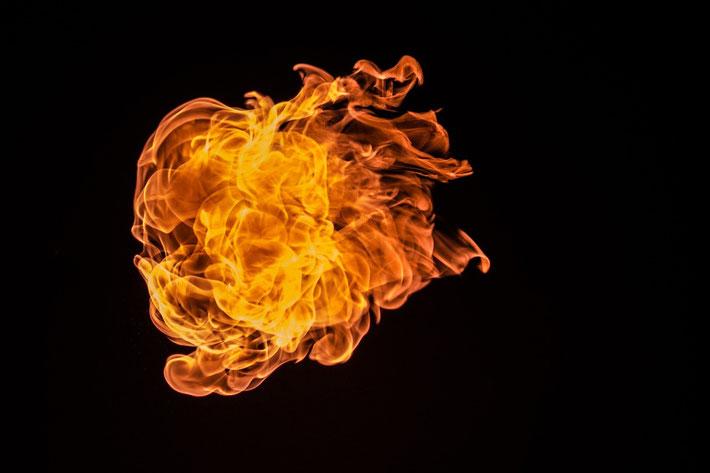 Feuer, Hitze, Entzündung
