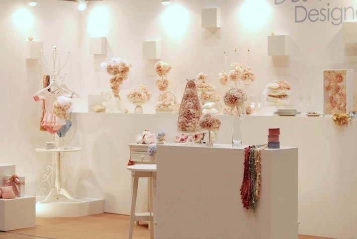 2012年6月「フラワードリーム2012」Dear...展示ブース
